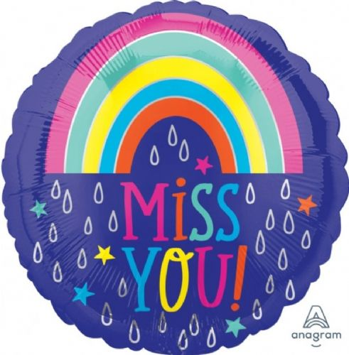 "ANAGRAM 18"" RAINDROPS MISS YOU! STANDARD S40 PKT"